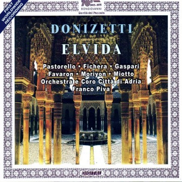 Elvida (Gaetano Donizetti) – Audio CD