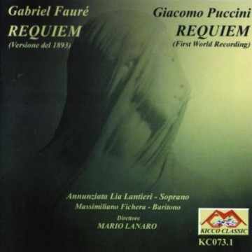 Requiem op.48 (1893 Gabriel Fauré) – Audio CD