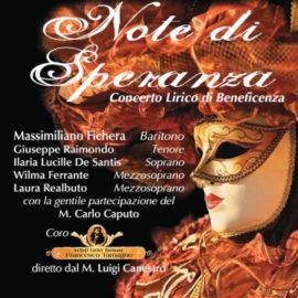 Note di Speranza - Concerto Lirico di Beneficenza - Massimiliano Fichera